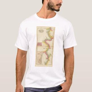 T-shirt La rivière Ohio et vallée supérieures 3