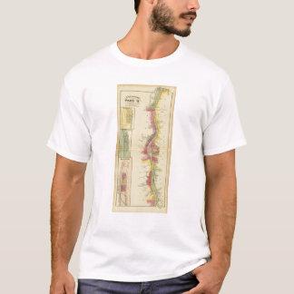 T-shirt La rivière Ohio et vallée supérieures 5