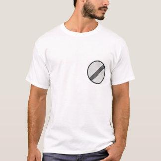 T-shirt La route allemande d'autoroute signe 1
