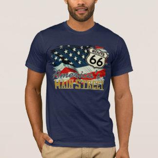 T-shirt La rue principale de l'Amérique