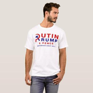 T-shirt la Russie et atout