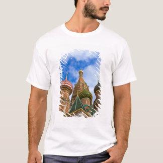 T-shirt La Russie, Moscou, carré rouge, St Basil