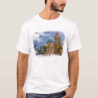 T-shirt La Russie, Moscou, carré rouge. St Basil 3