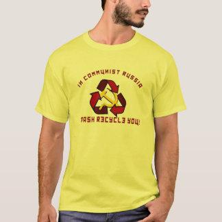 T-shirt La Russie réutilise