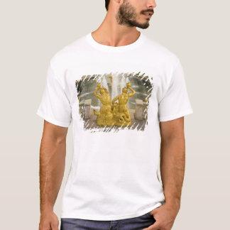 T-shirt La Russie, St Petersburg. Fontaine de Samson à