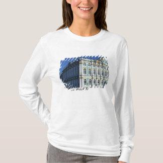 T-shirt La Russie, St Petersburg, palais d'hiver, les 4