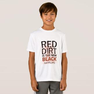 T-Shirt La saleté rouge est la nouvelle chemise de sport