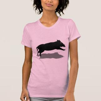 T-shirt La Sardaigne, Cinghiale - sanglier (fille)