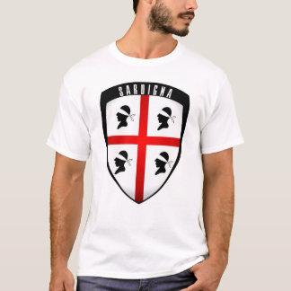 T-shirt La Sardaigne, crête de bouclier