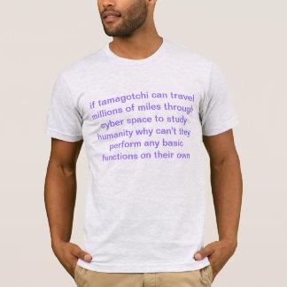 T-shirt la science de tamagotchi