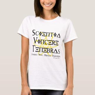 T-shirt La Science défera l'obscurité