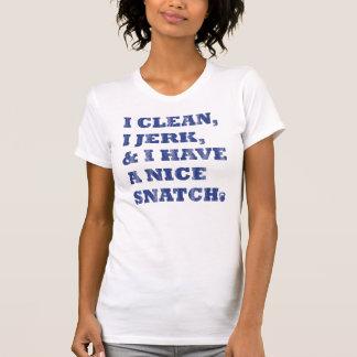 T-shirt la secousse propre d'i I et moi ont une bribe