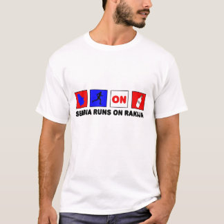 T-shirt La Serbie