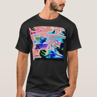 T-shirt La sérénade bombe le rose rayé