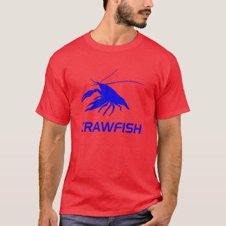 T-shirt la silhouette de l'écrevisse (rouge)