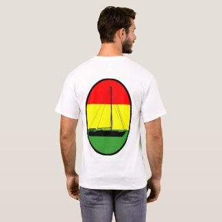 T-shirt La simplicité affrète la chemise tricolore