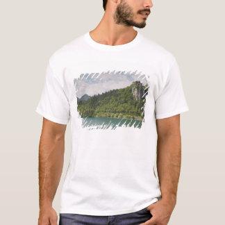 T-shirt La SLOVÉNIE, GORENJSKA, saigné : Château saigné et