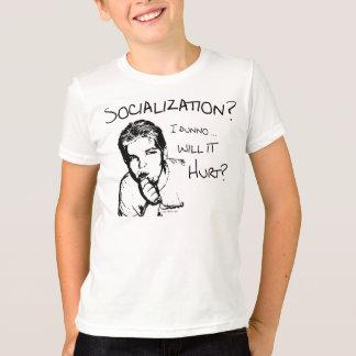 T-shirt La socialisation blessera-t-elle ?