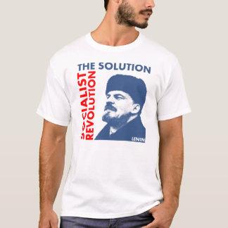 T-shirt La solution : Révolution socialiste