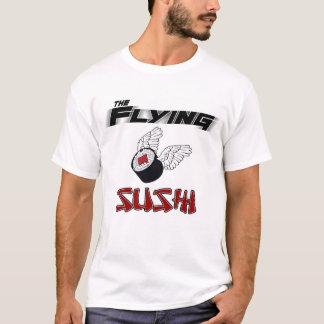 T-shirt La sonnerie de sushi de vol