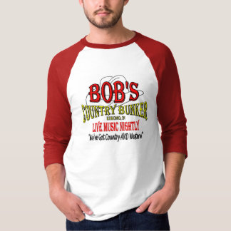 T-shirt La soute du pays de Bob - honorez les années 80