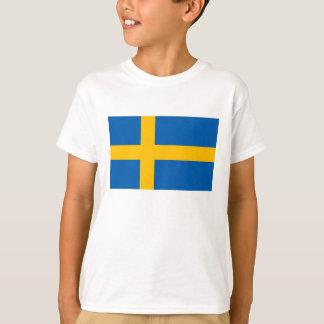 T-shirt La Suède - drapeau national suédois