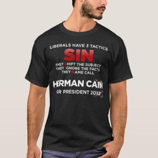 T-shirt La tactique de PÉCHÉ de libéraux