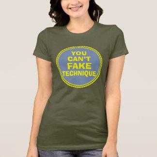 T-shirt La technique de danse ne peut pas le truquer la