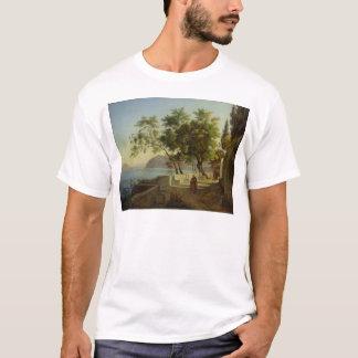 T-shirt La terrasse du Capucins à Sorrente, 1828