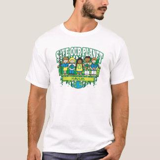 T-shirt La terre badine le Kansas