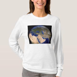 T-shirt La terre de marbre bleue 2 de prochaine génération