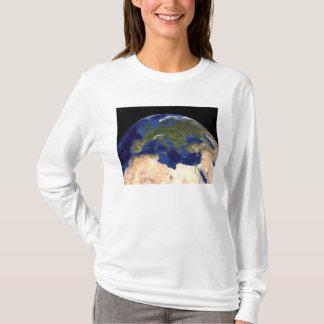 T-shirt La terre de marbre bleue 7 de prochaine génération