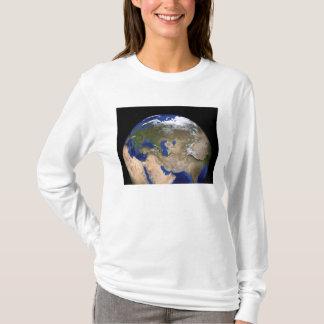 T-shirt La terre de marbre bleue de prochaine génération