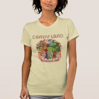 T-shirt La terre de sucrerie a établi 1945