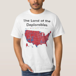 T-shirt La terre du Deplorables
