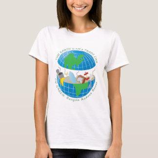 T-shirt La terre est toujours un grand marbre bleu