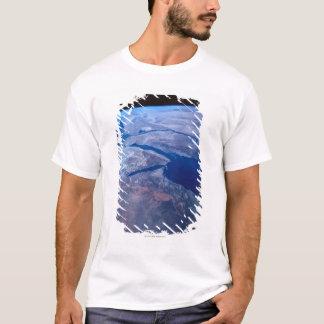 T-shirt La terre vue d'un satellite