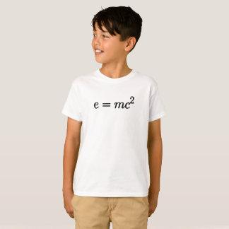 T-shirt La théorie d'Einstein d'équation de relativité