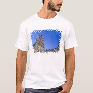 T-shirt La Toscane, Lucques, Piazza San Michele à l'aube