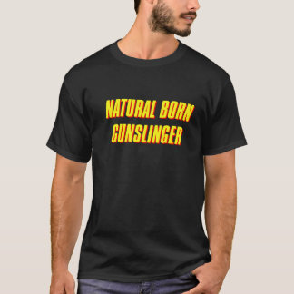 T-shirt La tour foncée - manieur de pistolet de naissance