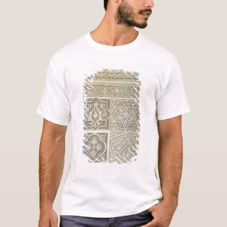 T-shirt La tuile arabe conçoit (le litho de couleur)