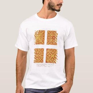 T-shirt La tuile du 13ème siècle conçoit, illustration de