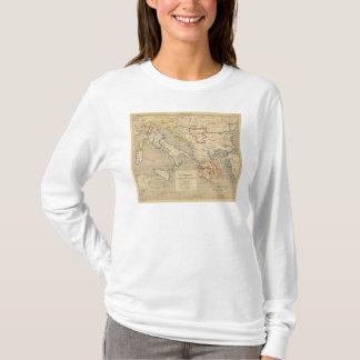 T-shirt La Turquie, La Grece et l'Italie De 1700 un 1840