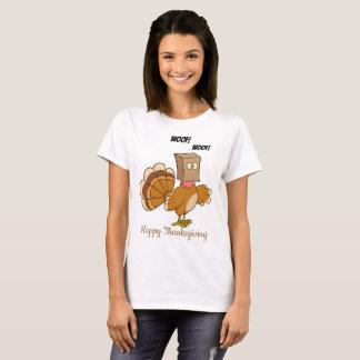 T-shirt La Turquie se cachant comme chien