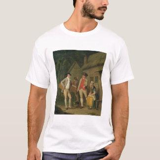 T-shirt La vache et les marchandises du Costard de veuve,