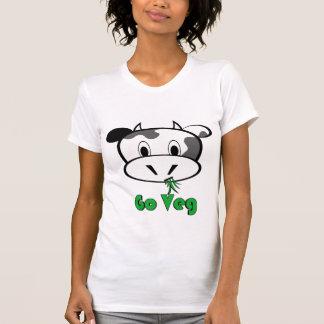 T-shirt La vache vont Veg