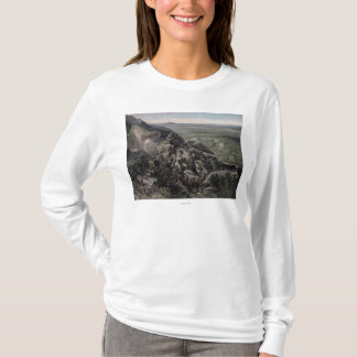 T-shirt La vallée du Mountain View
