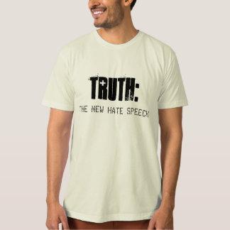 T-shirt La VÉRITÉ est le NOUVEAU DISCOURS de HAINE - T des