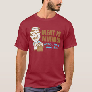 T-shirt La viande est meurtre