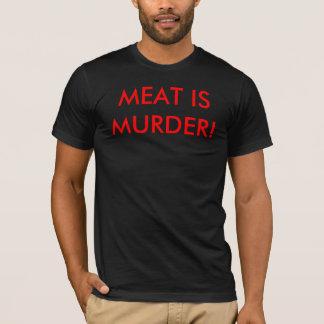 T-shirt La viande est meurtre !
